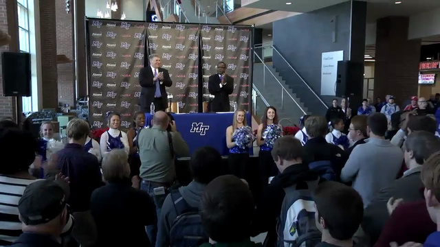 CUSA Press Conference