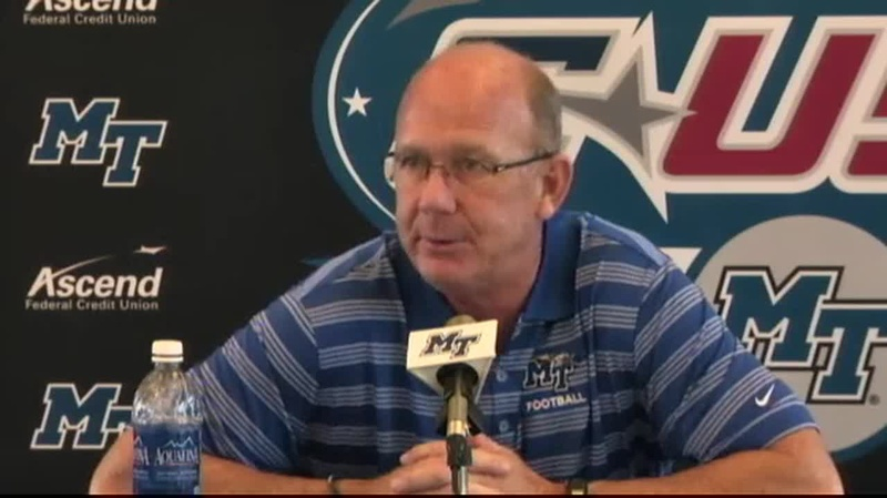 Football Press Conference: Stockstill