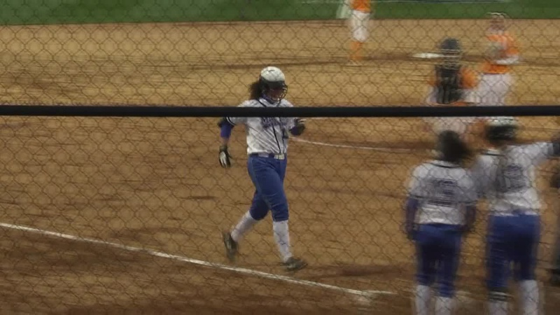 Softball vs. UT